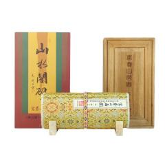 《富春山居图》小长卷丝绸画 真丝织锦 中国文化礼品 商务礼品