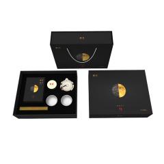 金秋颂 伴月茗 有机黑茶具茶壶茶杯礼盒套装 送客户什么东西最实用