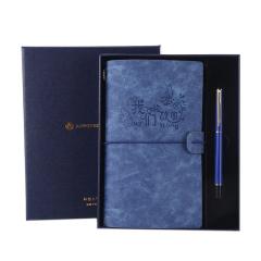 【我们的故事】A6复古手账本+签字笔礼盒 企业商务礼品定制
