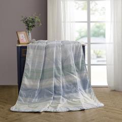 【契尔希夏被】水星家纺 夏季空调被凉被 耐磨抗皱成人学生薄被子 家用礼品