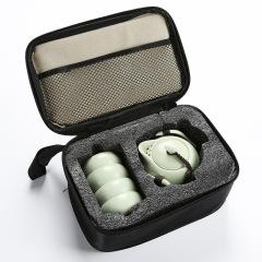 宋代名窑 定窑 一壶四杯旅行茶具礼品套装 茶杯茶道文化礼盒定制