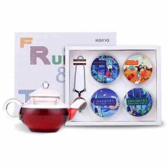 HOKYO 花果茶水果茶礼盒套装 经典4种口味 公司客户送什么礼品