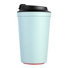 Artiart(台湾)  灵感咖啡杯 欧式带盖水杯 纯色防烫防漏随手杯 比赛发什么奖品
