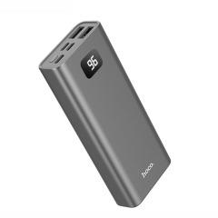 hoco premium product 便携小巧双USB移动电源10000毫安 带LED数显容量充电宝 公司安慰奖品  车行小礼品