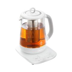 美的(Midea) 養生壺GE1501a 高硼硅玻璃 保溫電水壺多功能玻璃加厚煎藥電熱水燜煮燕窩玻璃壺