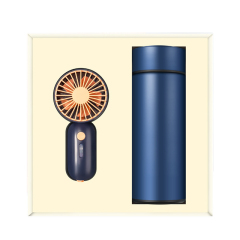 【夏日有礼】实用小清新夏季礼盒 小风扇+快手杯 夏季适合送什么礼品
