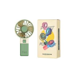 风小魔口袋迷你风扇 时尚撞色便携手持风扇 办活动的小礼品