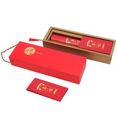 2020年春节对联 春联套装高档手工植绒材质 春节送什么礼品