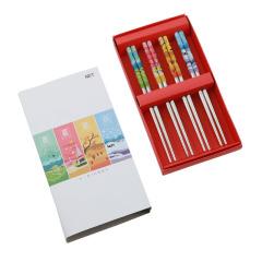 四季平安系列 不锈钢勺子筷子礼盒套装(4件组 )宣传品小礼品有哪些