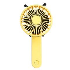 卡通USB口袋迷你手持风扇 便携定制小风扇 送国外客户礼品 国外展会礼品定制