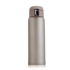 輕量便攜商務彈跳杯一鍵開蓋保溫杯460ML 生活實用小獎品