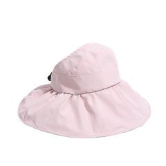 黑胶防UV防晒帽 紫外线大檐遮阳帽 夏季出游礼品