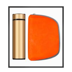 【礼仪之邦】商务创意折叠背包+温控保温杯礼盒套装 公司伴手礼一般选什么