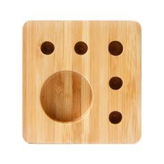 【楸】创意原竹办公桌面笔插收纳 公司年会 实用小礼品办公收纳