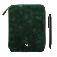 PU皮可定制logo创意优质拉链笔记本   商务礼品