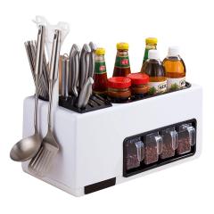 新一代多功能组合厨房分格收纳套装 商城活动礼品