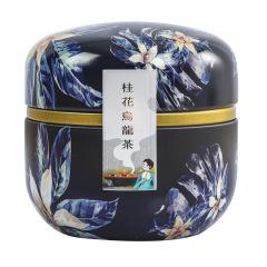 桂花乌龙茶罐装礼品 养生花茶果袋泡茶 中秋礼品