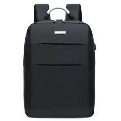 铝把手商务背包 防水双层电脑包 双肩背包定制
