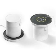 恒溫杯+無線充電器 加熱底座家用辦公室實用保溫杯墊 商務精美禮品 送大客戶禮品