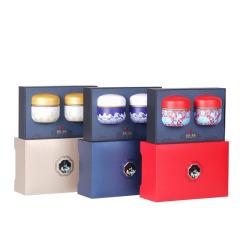 【點翠】商務創意茶葉伴手禮兩罐裝 大紅袍鐵觀音金駿眉 100元可以買什么