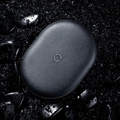 Baseus 原石无线充电器15W 超薄便携智能无线充 数码礼品