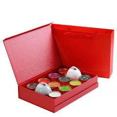 一罐茶十款口味禮盒套裝 企業贈品 房地產營銷送什么禮品好