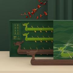 香遇端午·同舟共济 端午商务礼盒 创意龙舟造型香薰炉套装 300元左右的端午礼品