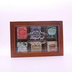 創意特色花茶組合套裝 玫瑰茉莉胎菊禮盒 活動獎品買什么好