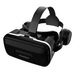 七代vr眼镜3D虚拟现实游戏眼镜头戴自带耳机     员工礼品什么好