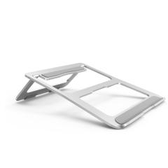 铝合金笔记本电脑散热支架 倾斜笔记本电脑桌面增高散热托架 生活用品小礼品