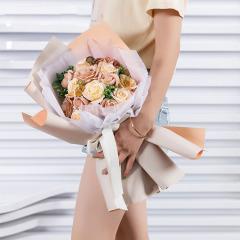 晚秋系列花束礼盒 时尚皂花花束礼盒 精美礼品 教师节礼物