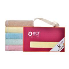 璞竹 福临门单条装毛巾环保活性印染 吸水性强 30*60cm 企业送的礼品