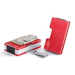 金属多功能钱夹 RFID超薄卡包铝制卡套 展会礼品