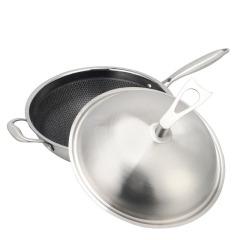 贝伦斯炒锅32cm复合钢炒锅通用炉具可用 年终礼品送什么