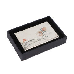【苏州博物馆】沈周石榴不锈钢名片盒  精巧设计 展会小礼品