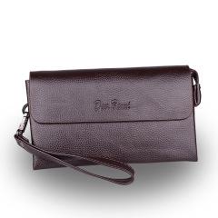 商务男式手包翻盖多功能休闲长款大容量手抓包    送客户礼品推荐