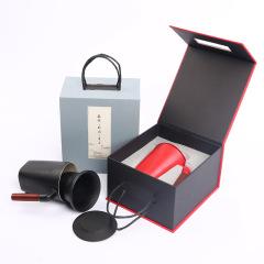 创意陶瓷过滤马克杯 茶水分离泡茶带盖水杯 公司宣传小礼品