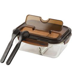 乐扣乐扣(Lock&Lock)多槽位分隔饭盒 可微波炉加热便当盒 年会伴手礼推荐