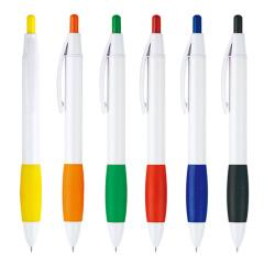 广告笔  赠品 创意糖果色按动圆珠笔