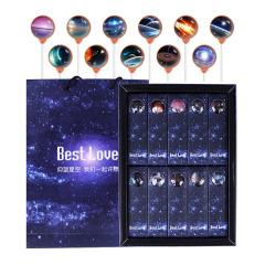 宇宙星空棒棒糖 十支禮盒裝 可【來圖定制】  創意零食禮物