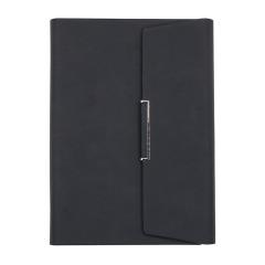 商务A5活页笔记本 三折皮面记事本 会议礼品