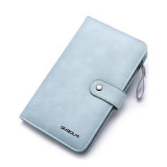 钱包长款时尚皮夹护照包多功能手机包   三八节礼品