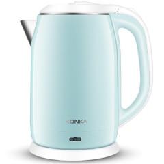 康佳(KONKA)  2L蒸汽感应精准控温双层防烫热水壶  生活小家电