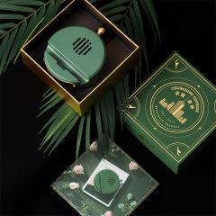 KAWOO重庆森林复古音响手机支架 便携无线低音炮小蓝牙音箱 创意小礼品