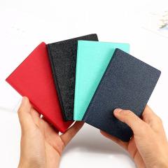 A7硬面抄笔记本 迷你口袋记事本 便携随身简约记事本文具 促销礼品定制
