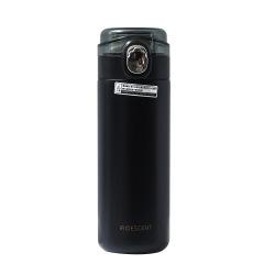 简约豌豆弹盖保温杯 小清新便携直身不锈钢杯400ML 商务礼品定制推荐