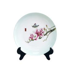 【广彩金玉满堂】手绘创意陶瓷盘 家居装饰 活动纪念品