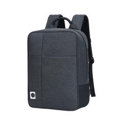 高透气加密小孔网料 双背包商务双背包 休闲纯色双肩背包 商务礼品双肩包