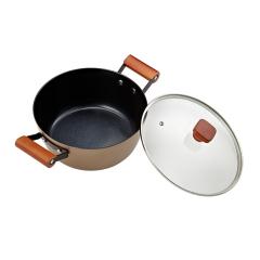 德国司顿(STONE)司顿陶晶不粘锅两件套  广告促销赠送