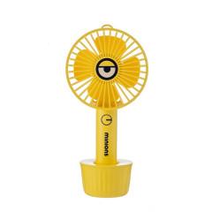 神偷奶爸小黄人便携式小风扇 特色小风扇 企业活动礼品定制